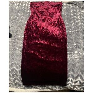Fashionnova Velvet Dress